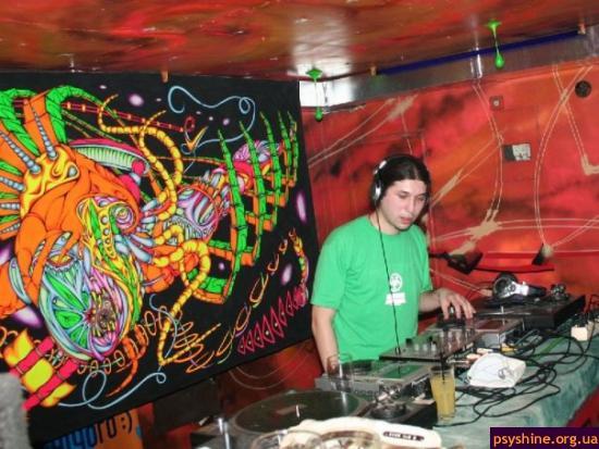 Одна из клубных вечеринок 2006