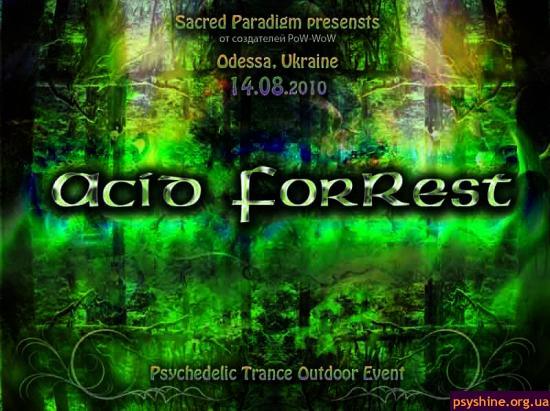 Acid ForRest front