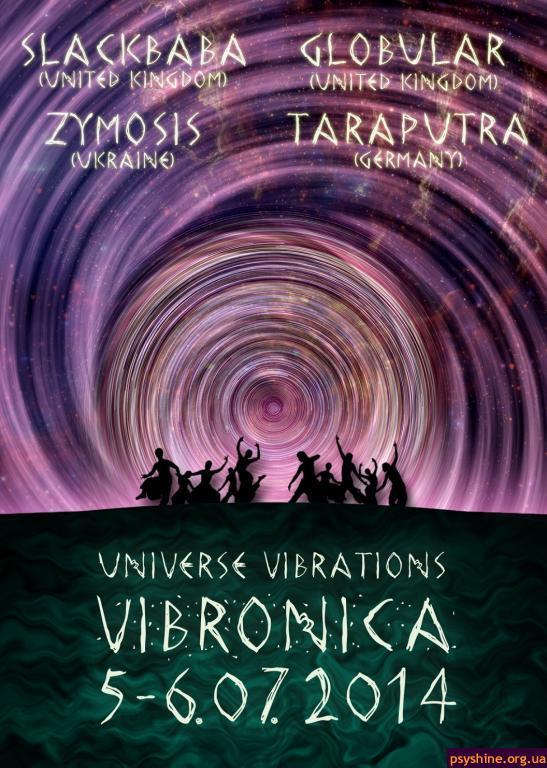 Universe Vibrations. Vibronica. Kiev. 5-6/07/2014